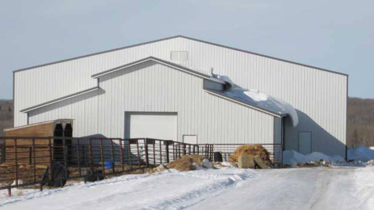custom-building-riding-arena-exterior-front-white-lac-la-biche