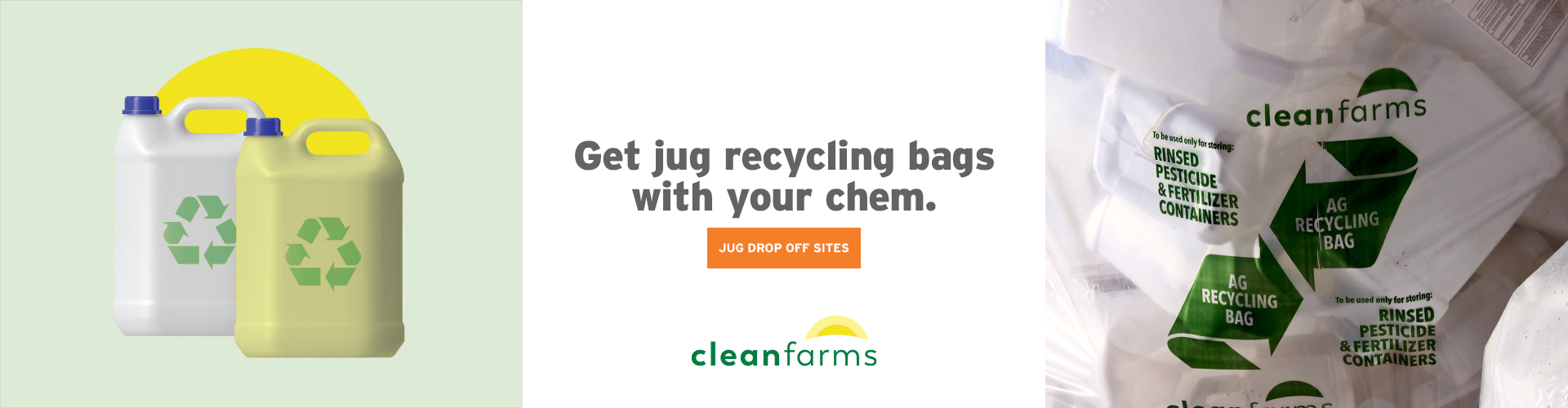 Clean Farms Jug Recycling