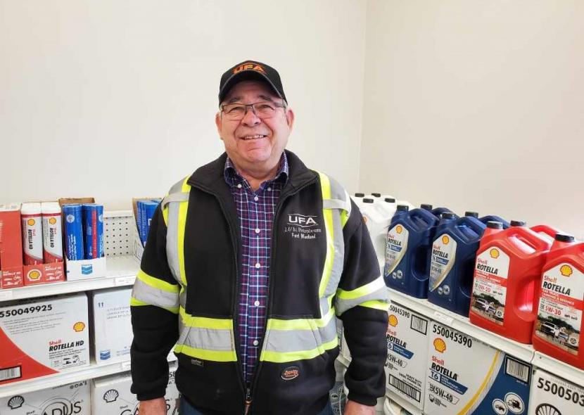 Keith Trowbridge celebrates 30 years in Fort Macleod